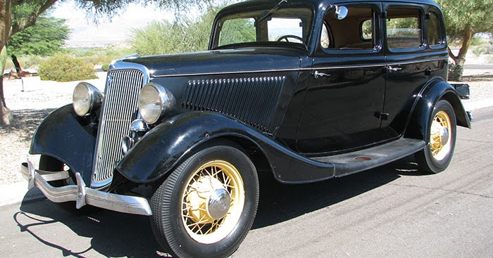 1934 ford v8 bonnie & clyde