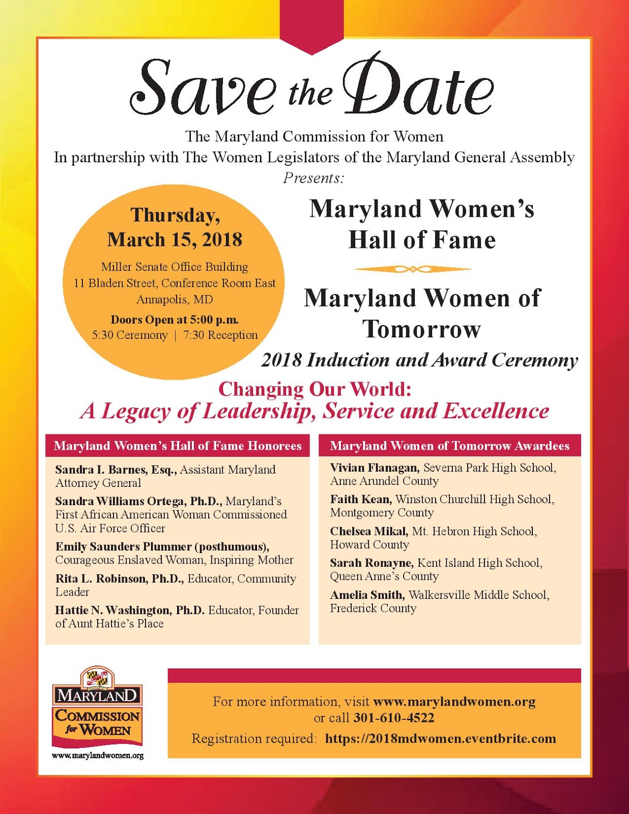 Prince georges county drug policy coalition inc pgcdpc prince georges county drug policy coalition incs nominee dr hattie washington inducted into 2018 maryland womens hall of fame 1betcityfo Images