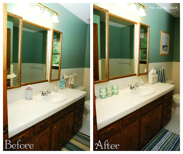 Stunning 20 bathroom quick makeover decorating design of for Quick fix bathroom ideas