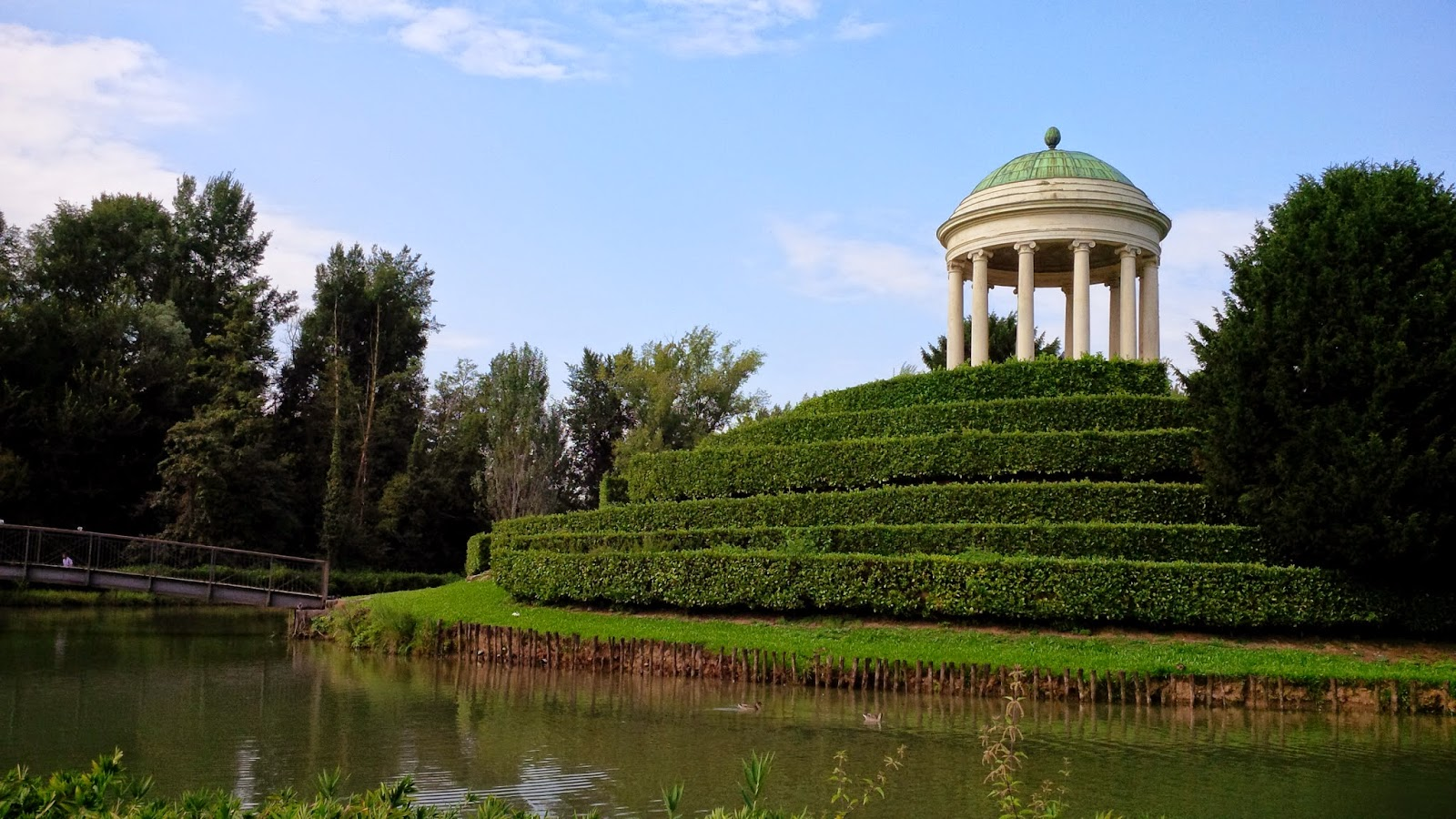 Parco Querini in Vicenza, Italy