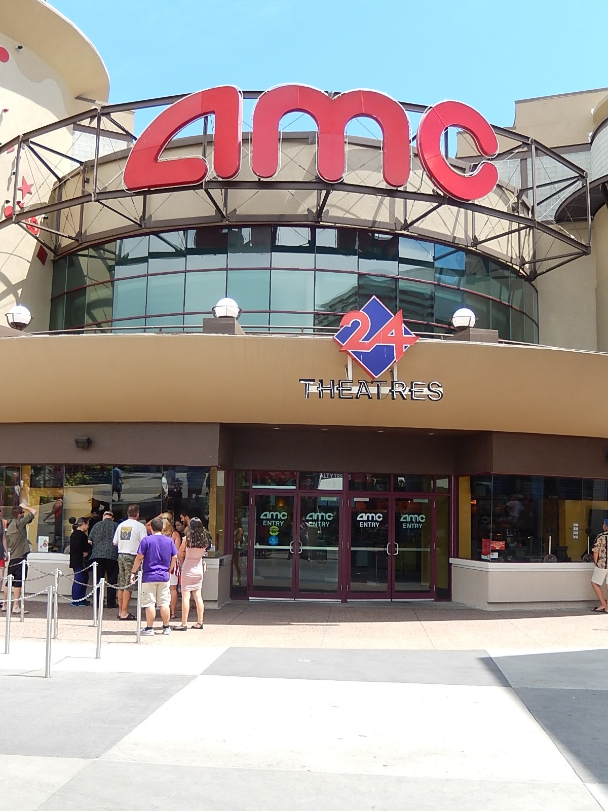 No new signs yet but the former AMC Pleasure Island 24 which came AMC  Downtown Disney 24 and then simply AMC 24, is supposedly now AMC Disney  Springs 24.