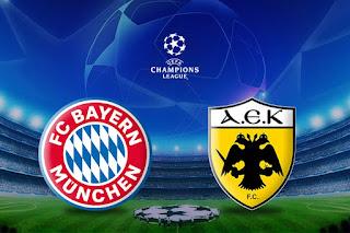 مشاهدة مباراة بايرن ميونخ وآيك أثينا بث مباشر بتاريخ 07-11-2018 دوري أبطال أوروبا