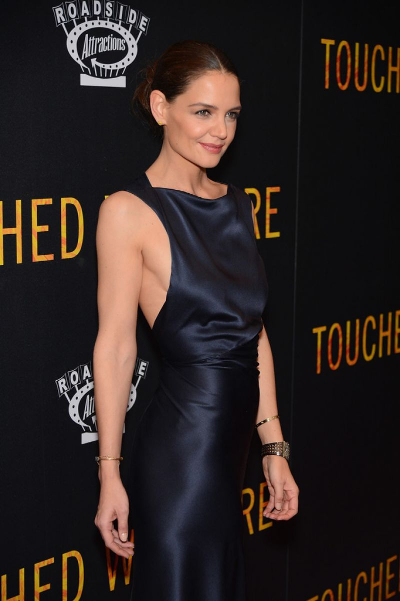 Katie Holmes at 'Touched with Fire' New York Premiere