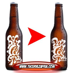 Cerveza BEERCELONAnueva botella