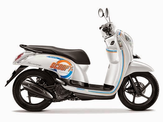 Honda Scoopy eSP Sporty Capital White