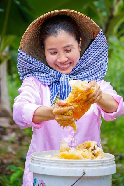Discovering honey-harvesting tour in U Minh Ha Forest 4