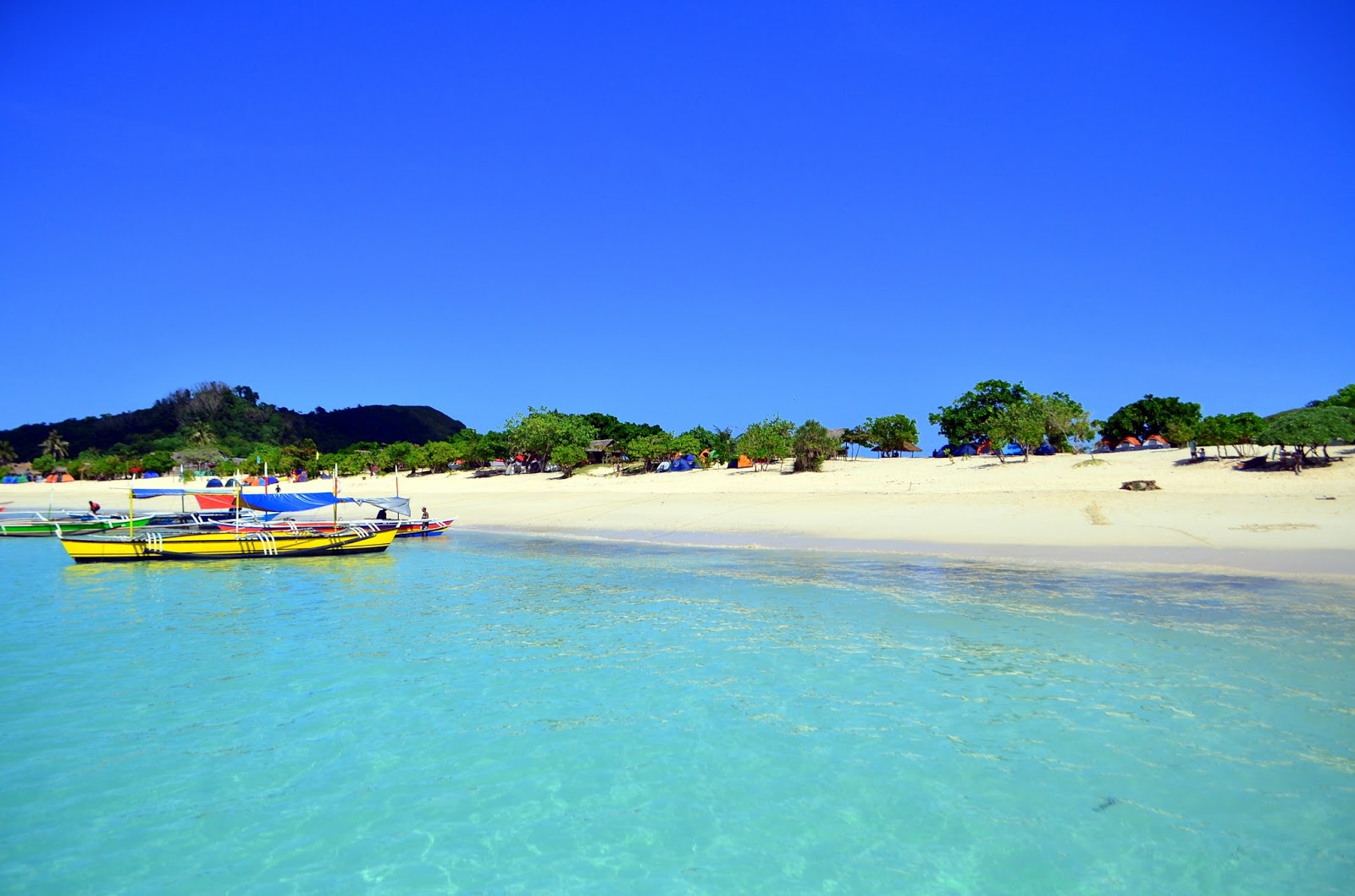 Mahabang Buhangin, Calaguas, Camarines Norte beach