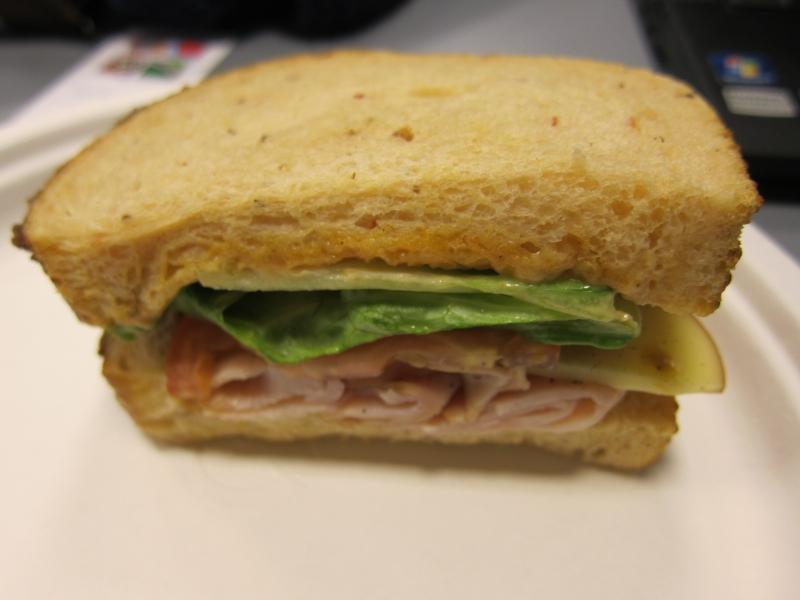 Review Panera Bread Bacon Turkey Bravo Sandwich Brand Eating