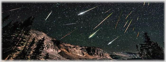 chuva de meteoros eta aquarideas