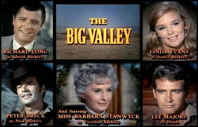 Wide Screen World: Stanwyck On TV: The Big Valley