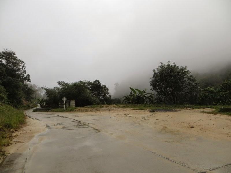 Дождь в горах Самуи