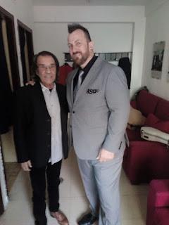 Félix con Pepe Habichuela