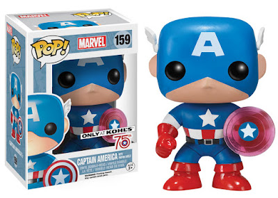 Kohl's Exclusive Captain America with Photon Shield Pop! Marvel Vinyl Figure by Funko