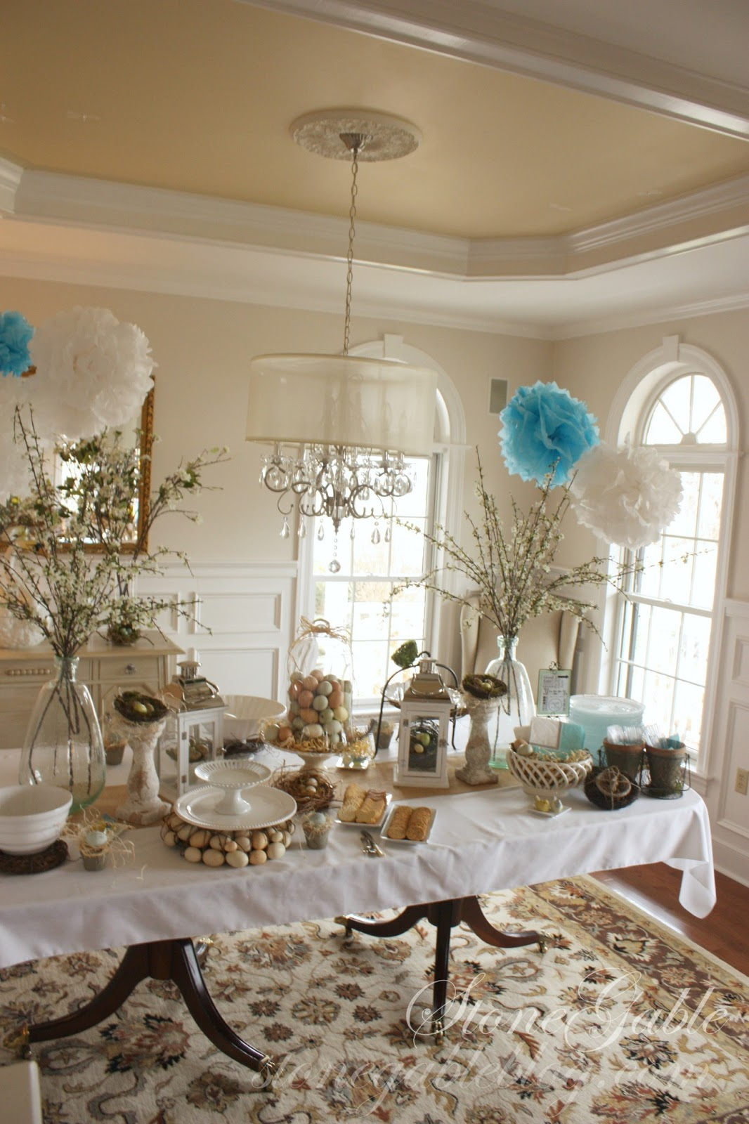 Decorate A Room: SPRING BRIDAL SHOWER, PART I