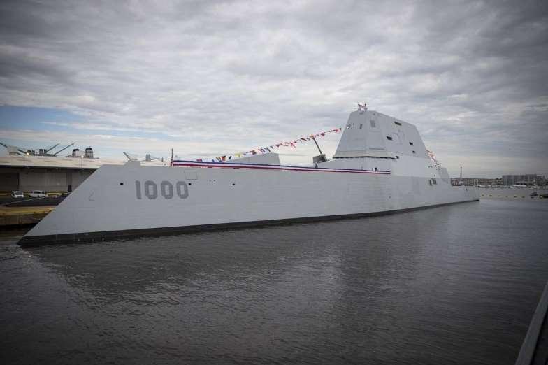 Submarino DDG 1000 Clase Zumwalt. Aviones, submarinos y barcos de guerras más caros del mundo. Cuánto cuesta un portaviones. Cuál es el costo de un avión de guerra. Cuánto vale un submarino nuclear.