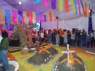 evento día de muertos en la delegación iztapalapa