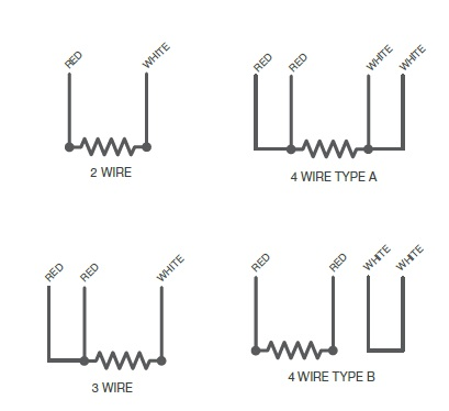 Rtd Wiring Configration on electric circuit diagrams