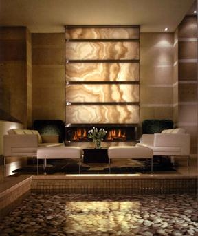 The Granite Shop Lite It Up Backlit Natural Stone