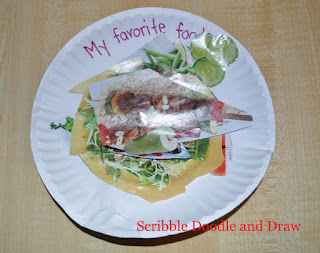 Thanksgiving craft for kids favorite meal