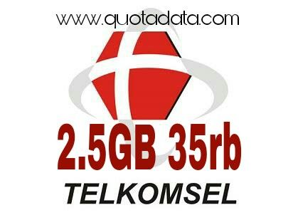 Promo Paket Internet 2.5Gb 35Rb Telkomsel 2018