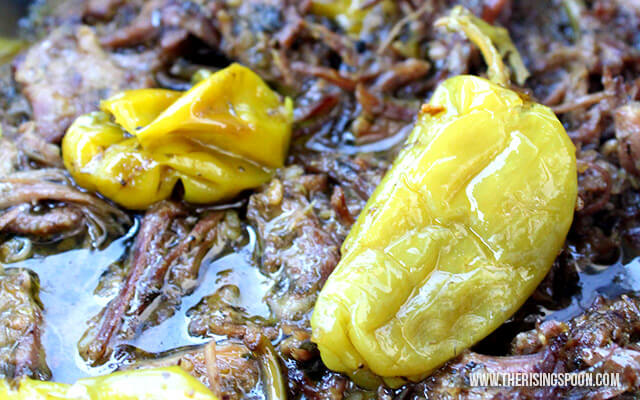 Crock-Pot Mississippi Pot Roast (Paleo & Whole30)