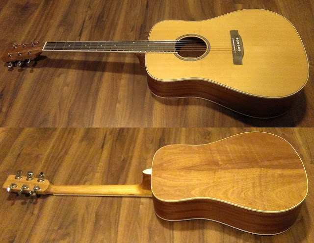 Guitarra acústica Antonio Carvahlo (APC) WG100