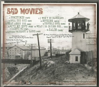 BAD MOVIES 2008_back