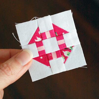 Hope S Quilt Designs Free Mini Block Pattern Churn Dash