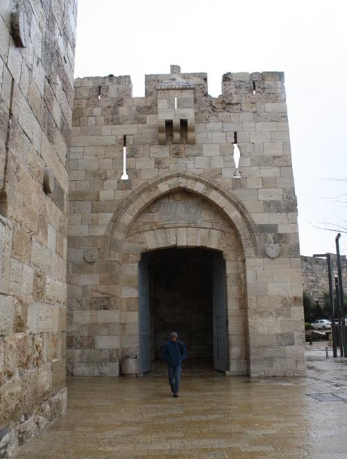 jerusalem israel western gate