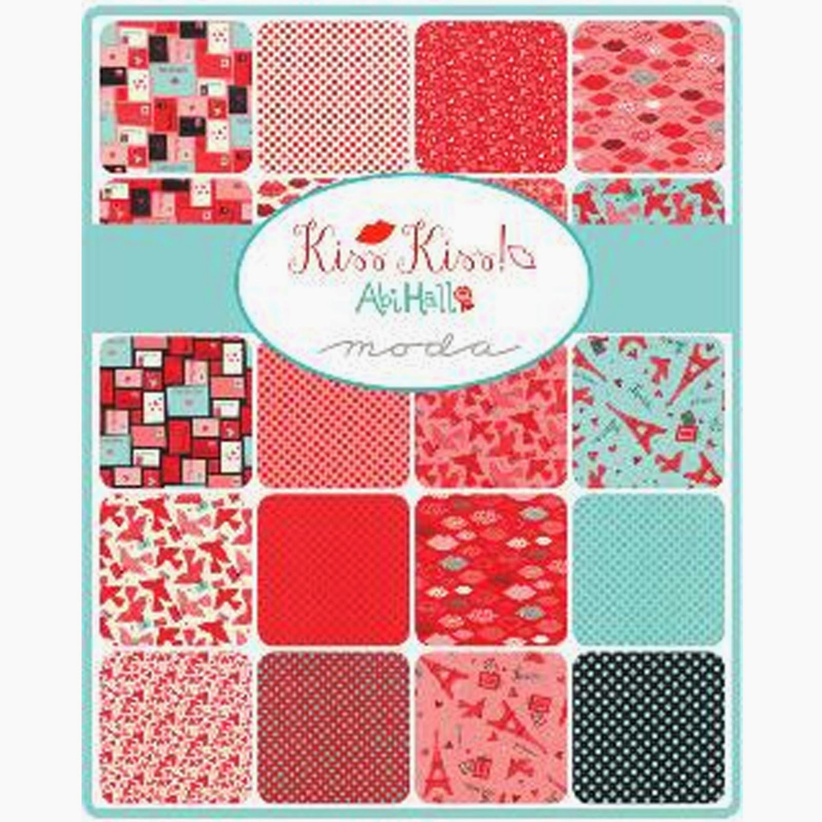 Moda KISS KISS Fabric by Abi Hall for Moda Fabrics