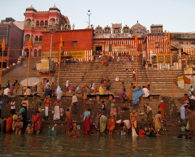 Ghats, Varanasi, India