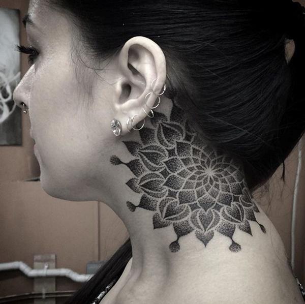 tatuagens de mandalas para as meninas