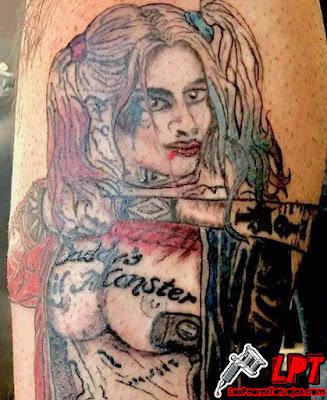 El peor tatuaje de Harley Quinn