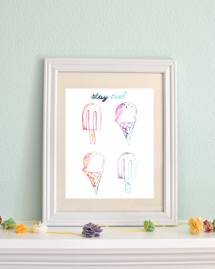 Stay Cool free printable