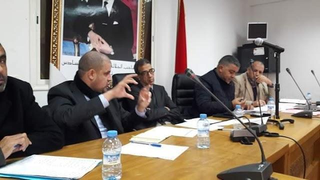 فؤاد قديري ممثل جهة البيضاء-سطات يحضر أشغال الدورة الاستثنائية للمجلس الجماعي لسيدي رحال الشاطئ