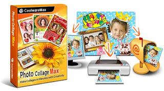 تحميل برنامج تركيب الصور والتلاعب بها 2018 Photo Collage Max للكمبيوتر