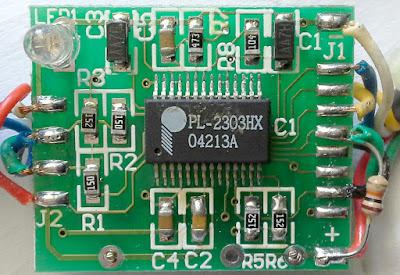 PL-2303HX adapter PCB