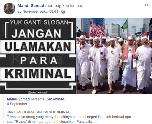 Hati-hati! Banyak Oknum Buat Akun FB Palsu, Akun ini Hina Ustadz Abdul Somad