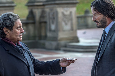 Keanu Reeves and Ian McShane in John Wick Chapter 2 (9)