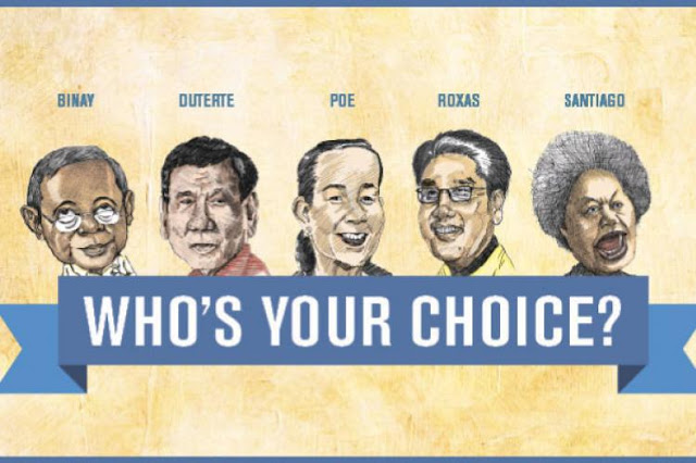 Vote Here! Philippine's Mock Election 2016!