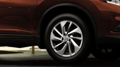 Fitur New Wheel Design All New Nissan X-Trail Mobil SUV