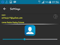 BBM Dark Grey Standart V2.11.0.18 Apk Terbaru