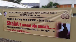 Syariat Islam dan Budaya Ngopi di Aceh