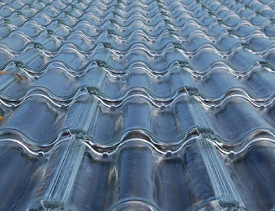 SolTech's Glass Roof Tiles