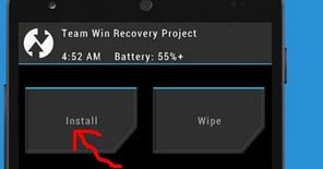 Download][Recovery] TWRP Lollipop Custom Rom installer For Gionee P3