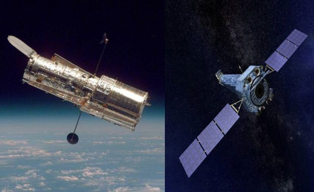 What's going on? NASA's Chandra and Hubble Space Telescopes went into Safe Mode  Hubble%2B-%2BChandra%2BSpace%2BTelescopes