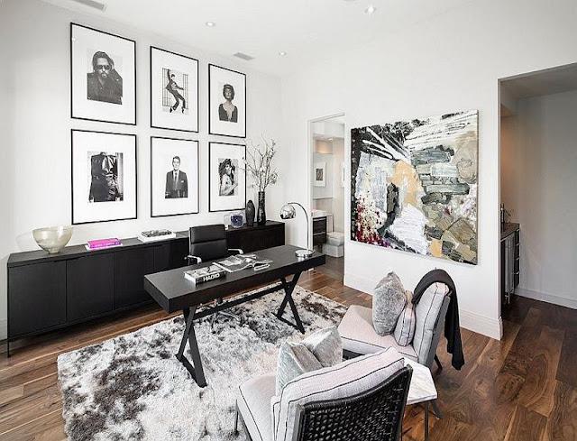 best modern home office desk systems design ideas