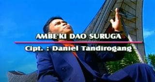 Lirik Lagu O Ambe'ki Dao Suruga