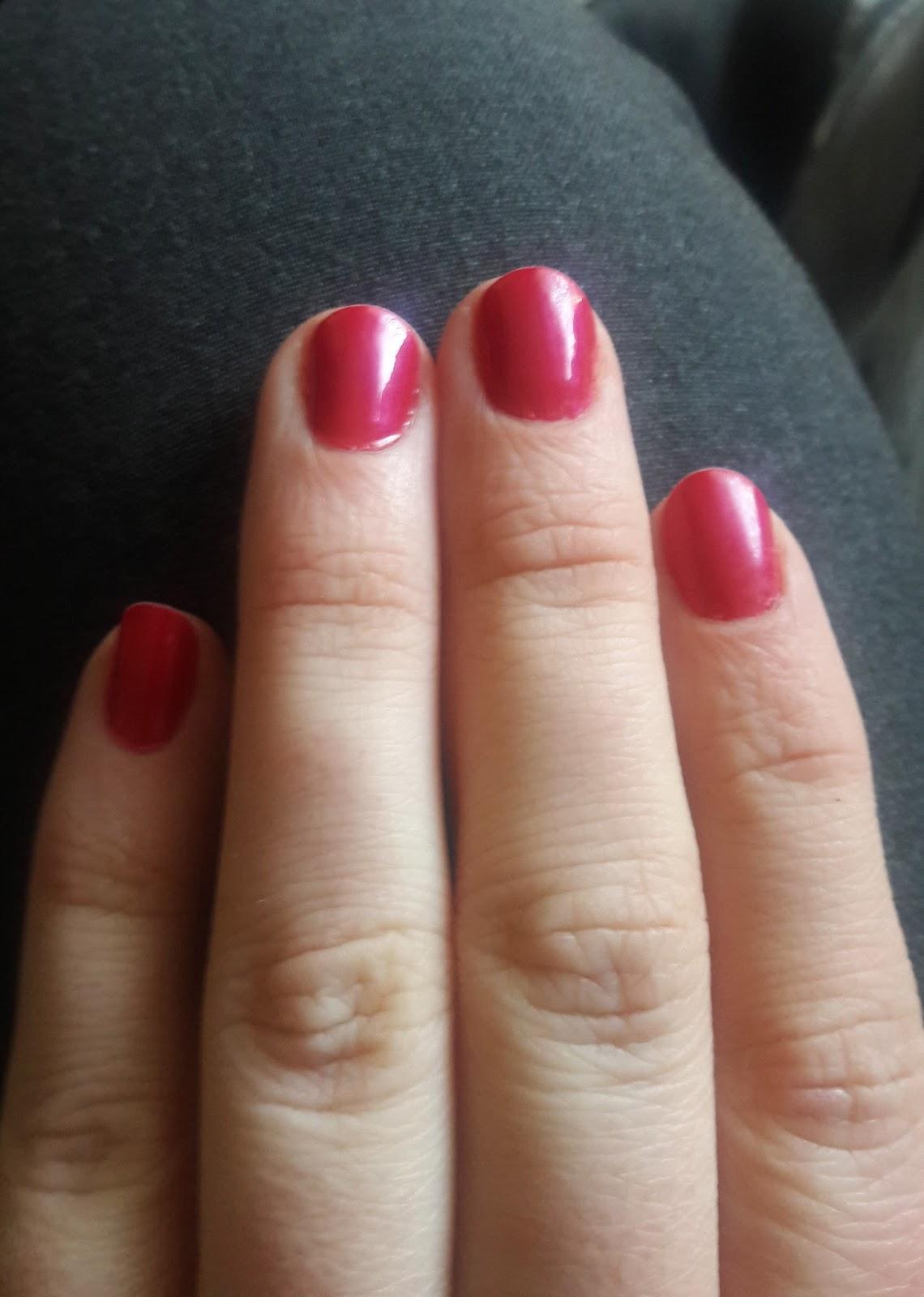 the italiagal: Signature Sunday: Nail Polish: California Raspberry ...