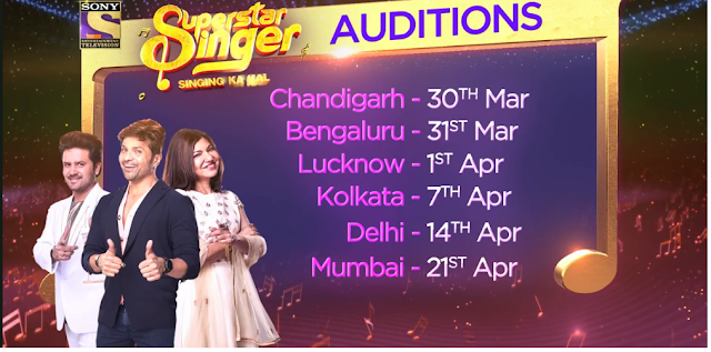 Superstar Singer 2019 Reality Show on Sony TV Wiki - Audition Date, Venue